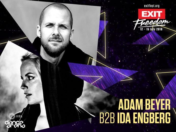 Adam Beyer Ida Engberg exit dance arena 2018!