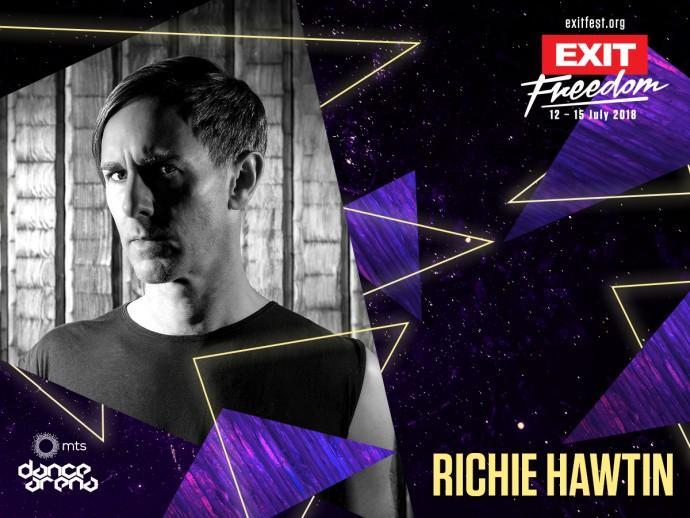 Richie Hawtin exit dance arena 2018