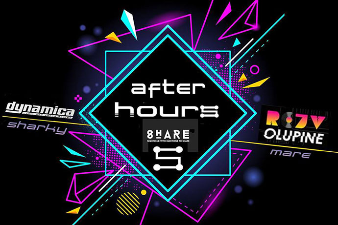 Techno After Hours Mare Rejv Olupine Sharky Srpska nova godina Share