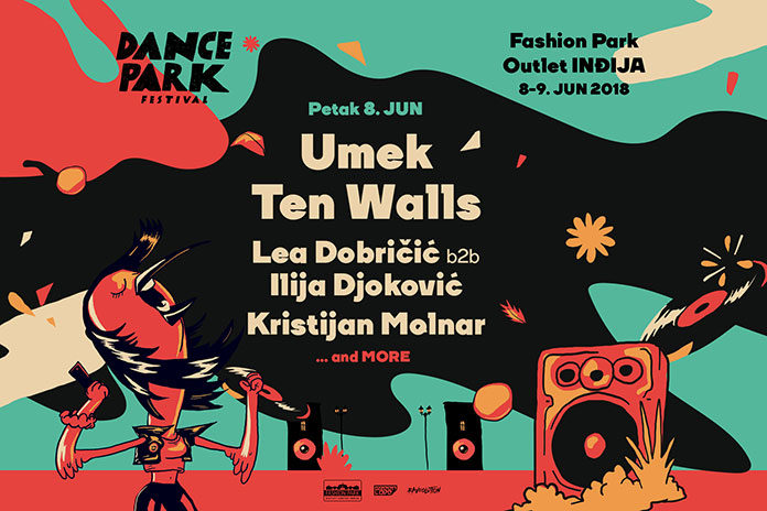 Dance Park Festival UMEK Ten Walls
