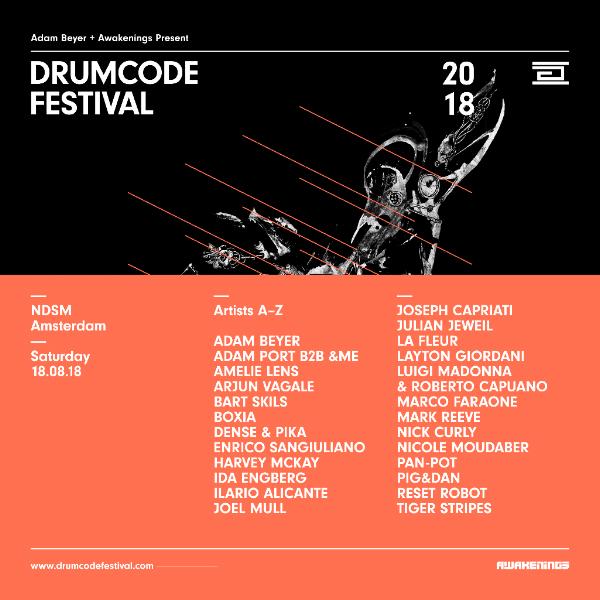 Drumcode festival Line Up