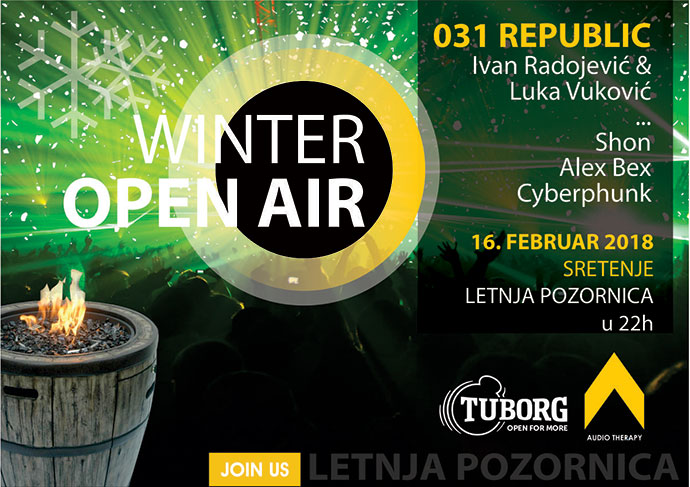 Tuborg Winter Open Air Letnja pozornica