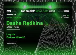 Dasha Redkina No Sleep 2018