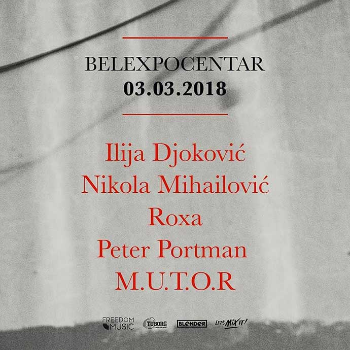 Ilija Djoković Nikola MihailovićRoxa Peter Portman M.U.T.O.R BelExpo centar
