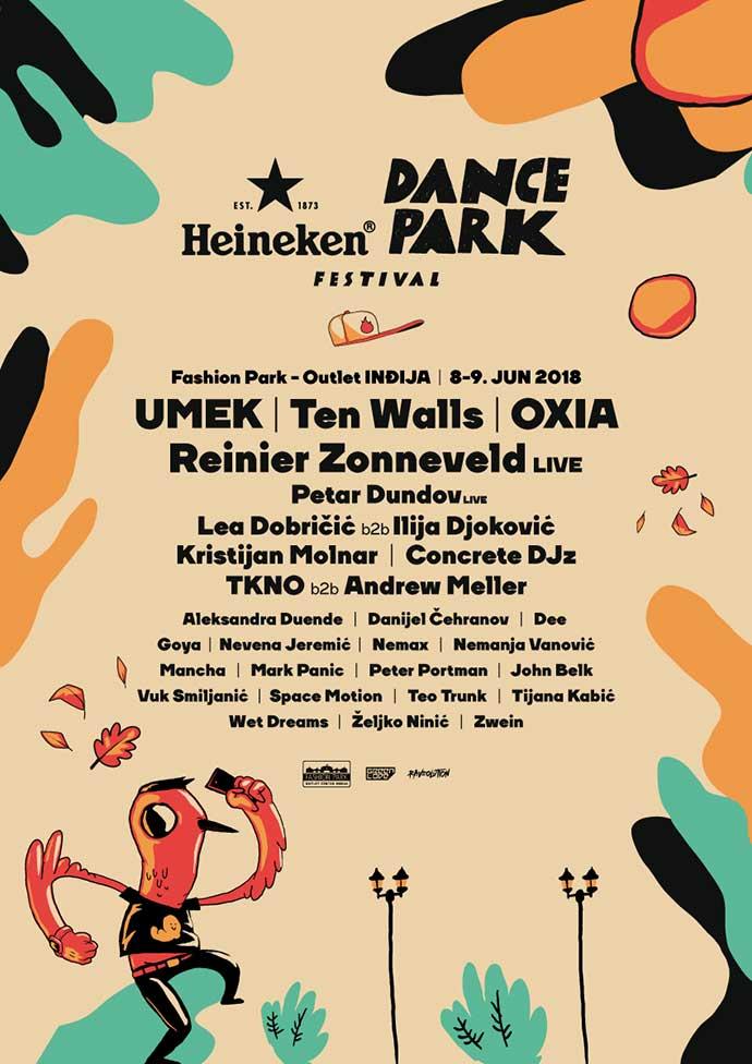 Dance Park festival line up