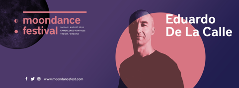 Eduardo de la Calle Moondance festival 2018