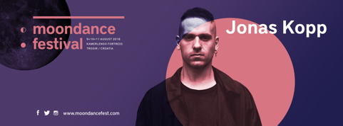 Jonas Kopp Moondance festival 2018