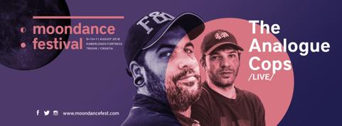 The Analogue Cops Moondance festival 2018