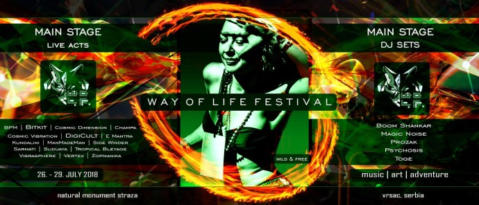 Way Of Life Festival 2018