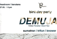 Demuja Sumatran Trifun Knower Headroom Barutana