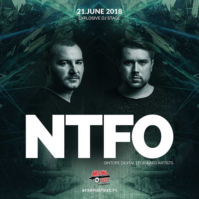 NTFO Arsenal fest Explosive Stage 2018