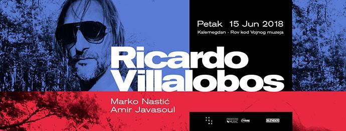 Ricardo Villalobos Marko Nastić Amir Javasoul Blender Kalemegdan