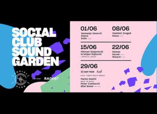 Social Club Sound Garden Jun 2018.