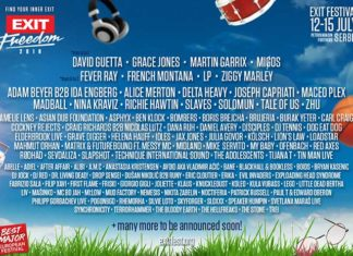 EXIT Freedom Line Up