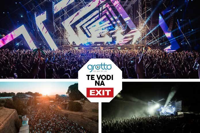 Grotto EXIT 2018 podela karata