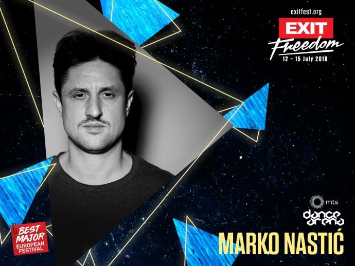 marko nastic exit dance arena 2018
