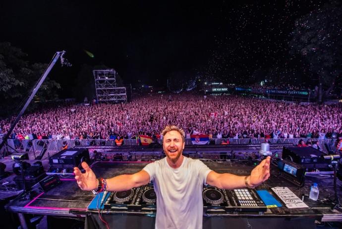 David Guetta EXIT 2018