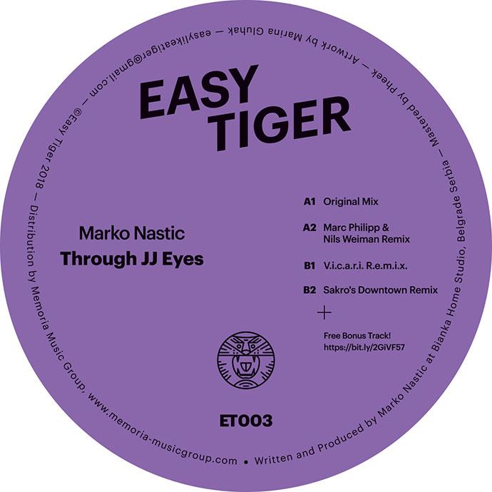 Easy Tiger 003 Through JJ Eyes Marc Philipp Nils Weimann V.I.C.A.R.I. Sakro