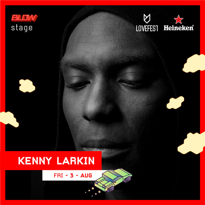Kenny Larkin Blow Stage Lovefest 2018