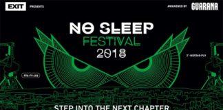 No Sleep festival 2018 Hangar Beograd