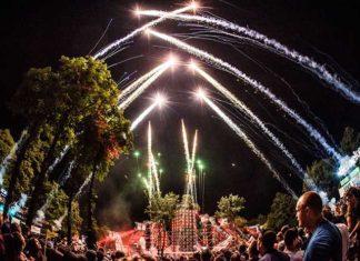 Lovefest 2018 recenzija Fire Stage vatromet