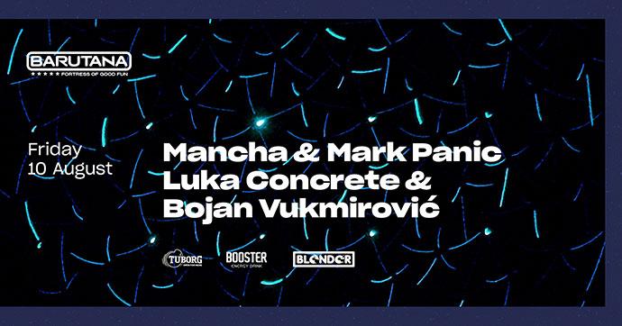 Mancha Mark Panic Luka Concrete Bojan Vukmirovic Barutana
