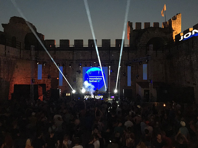Moondance festival 2018 Jonas Kopp Tresor