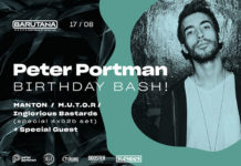 Peter Portman Birthday Barutana 2018