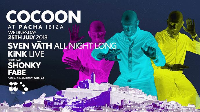 Cocoon Ibiza KiNK kirilik 2018