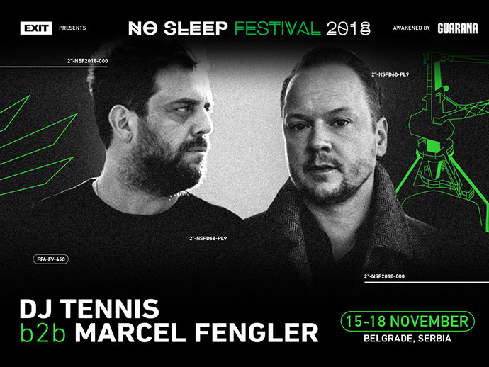 DJ Tennis Marcel Fengler No Sleep Festival 2018