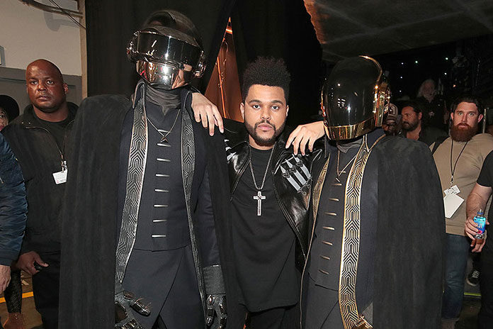 Daft Punk The Weeknd