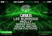 Cassius Lee Burridge No Sleep festival 2018