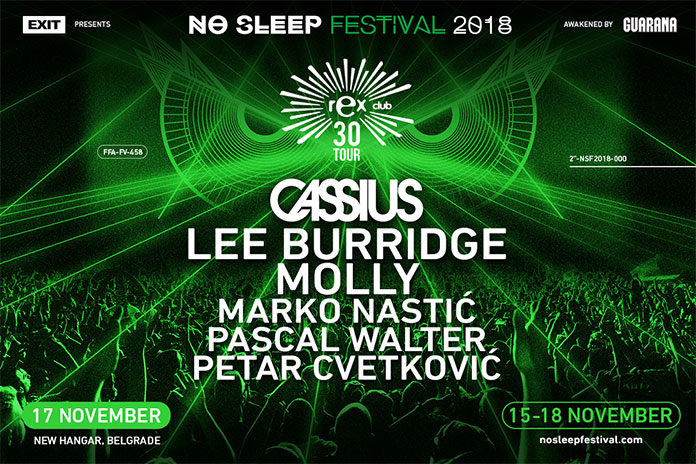 Cassius Lee Burridge No Sleep festival 2018