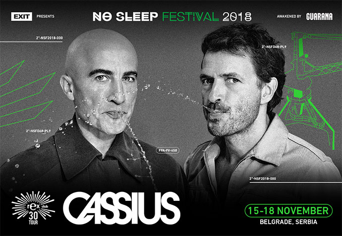 Cassius No Sleep festival 2018