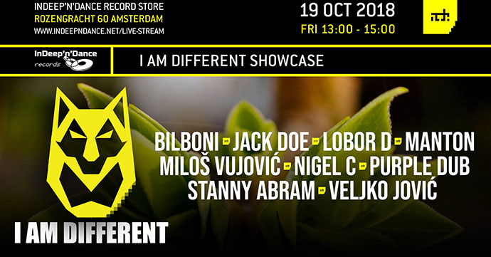 I AM Different Showcase ADE 2018