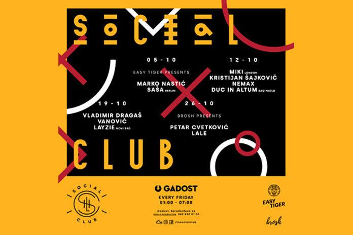 Late Night Social Club October 2018