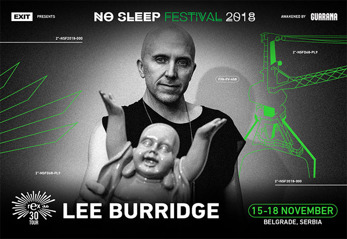 Lee Burridge No Sleep festival 2018