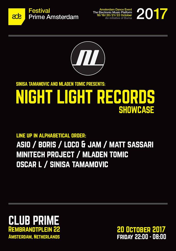 Night Light Records Showcase ADE 2018