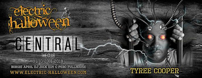 Tyree Cooper Electric Halloween