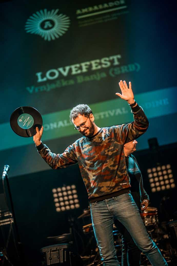 Ambasador nagrada 2018 Lovefest Marko Vukomanović