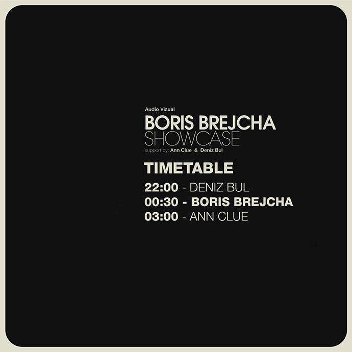 Boris Brejcha Showcase Timetable