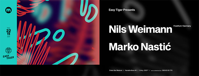 Easy Tiger Nils Weimann Marko Nastić Mladost