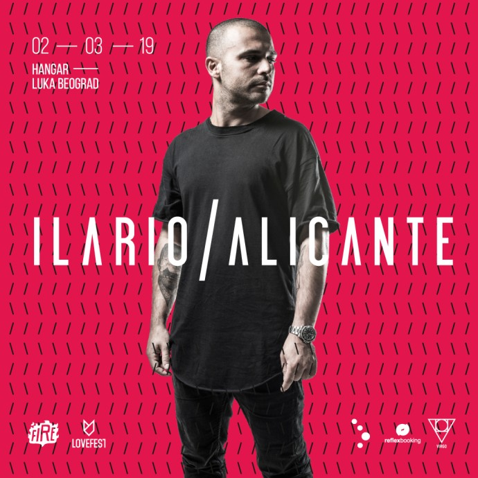 Ilario Alicante lovefest fire