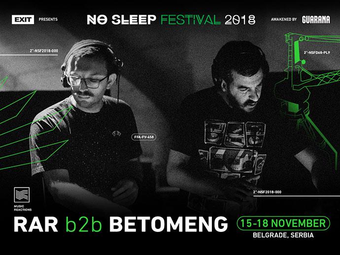 RAR Betomeng No Sleep festival 2018