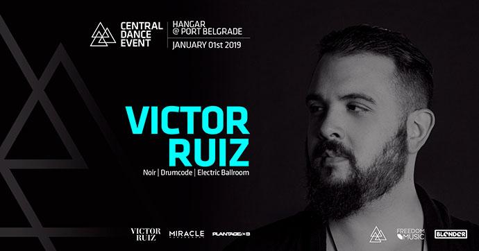 Repriza Nove godine Victor Ruiz Central Dance Event 2019 Hangar