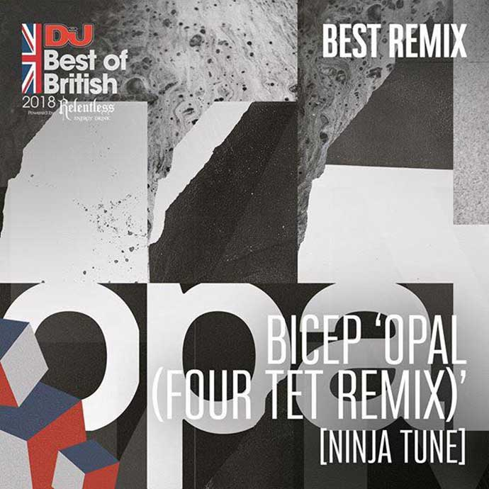 Bicep Opal Four Tet Remix Ninja Tune Best Remix DJ Mag Best Of British Awards 2018