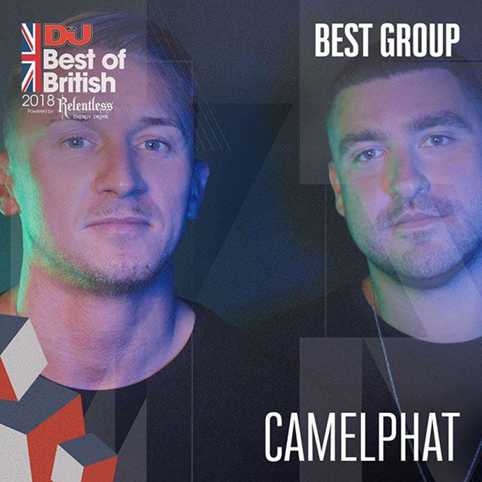 CamelPhat Best Group DJ Mag Best Of British Awards 2018