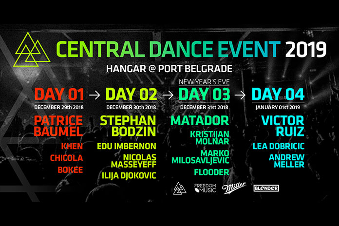 Central Dance Event 2019 Full Line Up