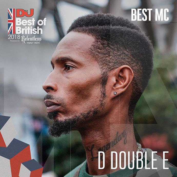 D Double E Best MC DJ Mag Best Of British Awards 2018