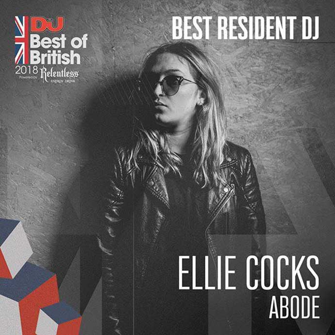 Ellie Cocks Best Resident DJ DJ Mag Best Of British Awards 2018